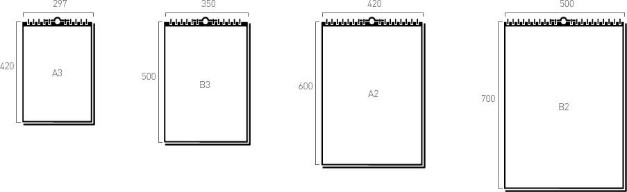 Календарь а2 размеры